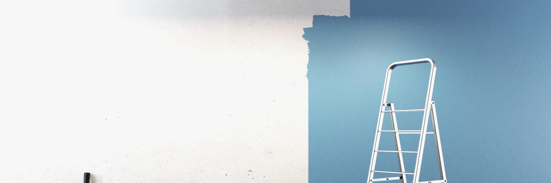 Peinture sur un mur intérieur