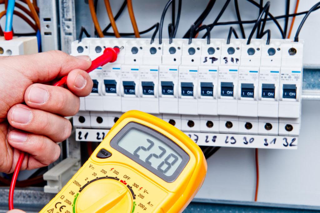 Tests suite à l'installation d'un tableau électrique