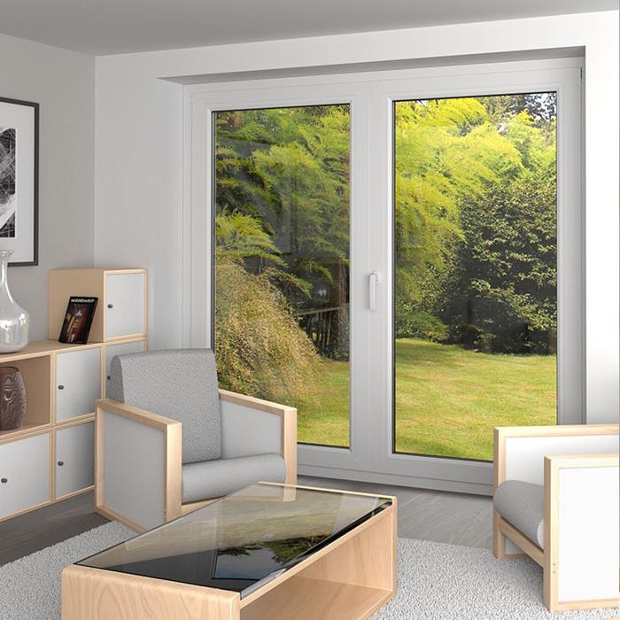 Porte-fenêtre PVC