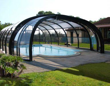 Abri haut piscine