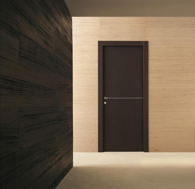 Porte d'intérieur en aluminium