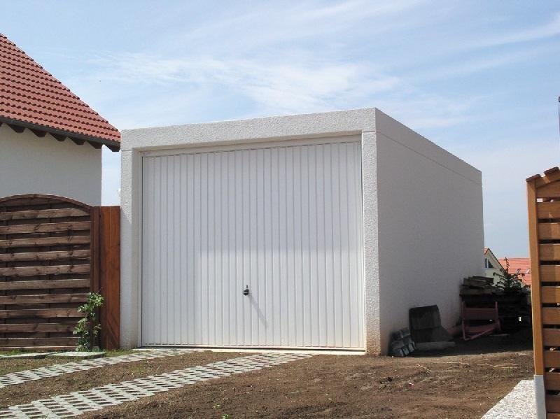 Garage préfabriqué béton