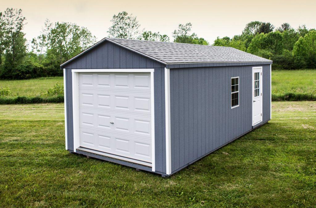 Garage préfabriqué modulaire