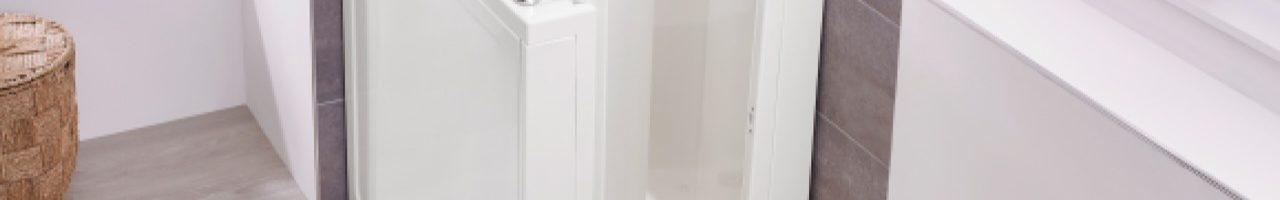 Dossier baignoire à porte