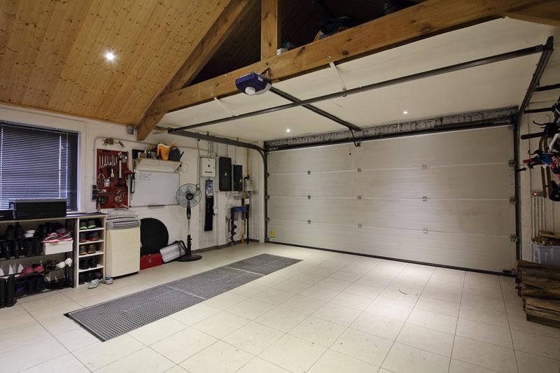 Isolation mur garage